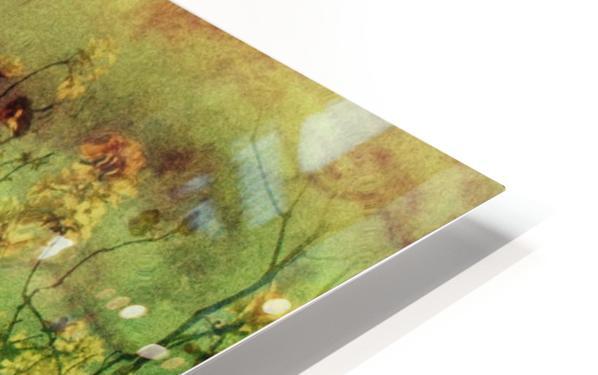 Flowers HD Sublimation Metal print