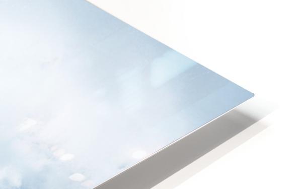 Beautiful Blue Ocean Wave HD Sublimation Metal print