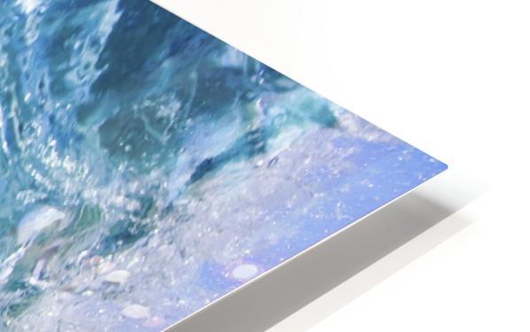 Blue Ocean Wave HD Sublimation Metal print