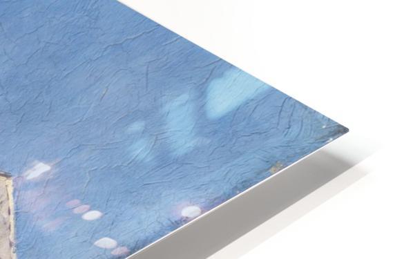 Mielich Orientalische Marktszene HD Sublimation Metal print