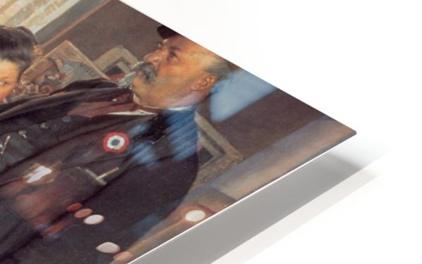 A large family HD Sublimation Metal print