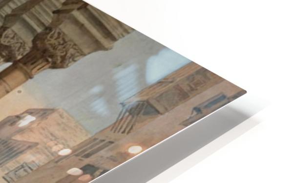 An Oriental Bazaar HD Sublimation Metal print
