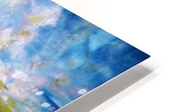 Paragliding HD Sublimation Metal print