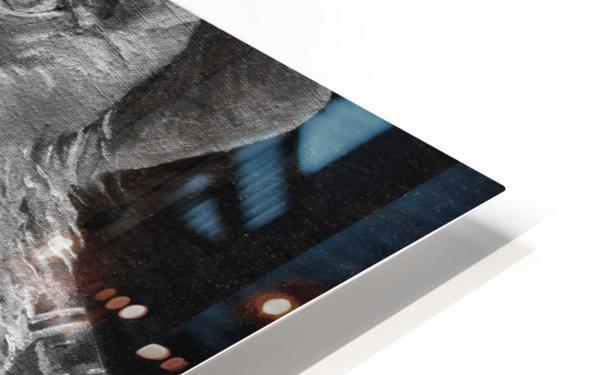Pop Shines BandW signed  HD Sublimation Metal print
