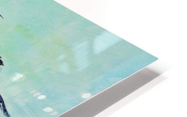 Stilts Bathing  HD Sublimation Metal print
