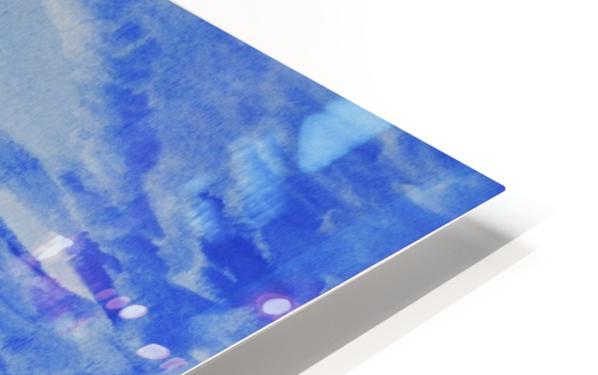Dusk Ocean Scene HD Sublimation Metal print