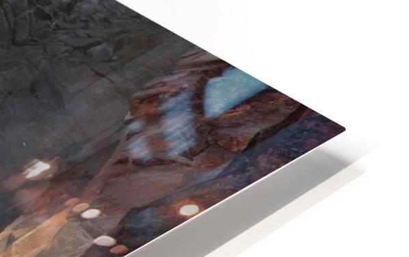 Bau der Teufelsbrucke Impression de sublimation métal HD