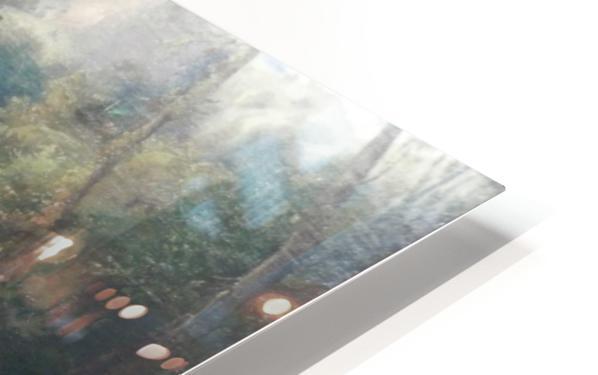 Badende Madchen im Park von Terni Impression de sublimation métal HD