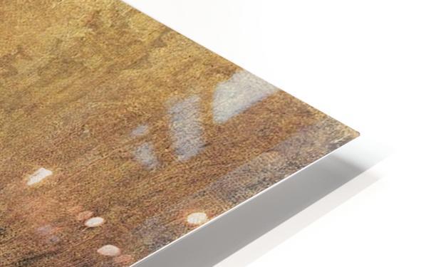 Portait de Carl Blechen Impression de sublimation métal HD