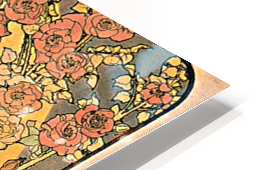 The rose, 1898 HD Sublimation Metal print