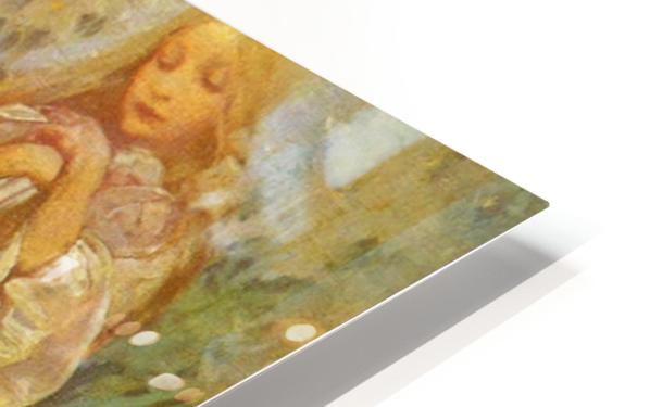 Madonna of the Lilies HD Sublimation Metal print