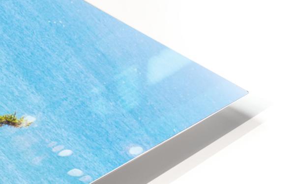 Cliffhanger HD Sublimation Metal print