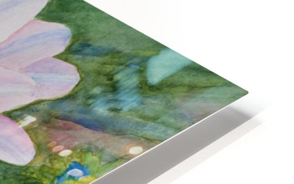 Two Daisies HD Sublimation Metal print
