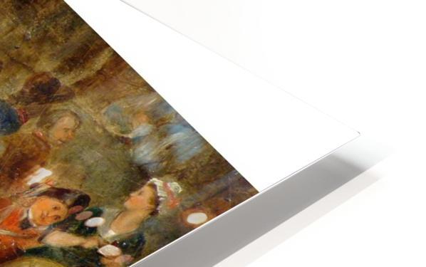 Antique oil painting HD Sublimation Metal print