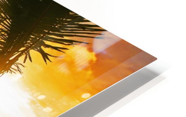 Lanikai Beach Sunset HD Sublimation Metal print