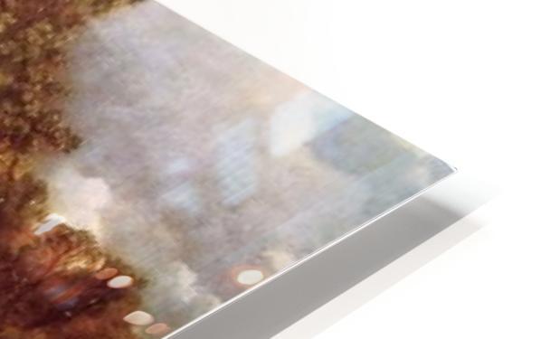 Wooded Landscape HD Sublimation Metal print