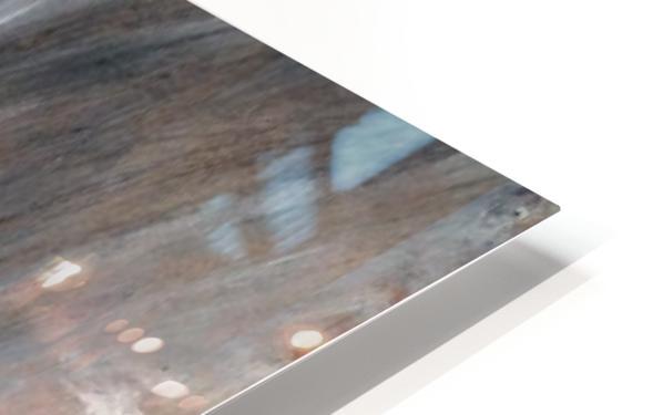 Rainstorm over the sea HD Sublimation Metal print