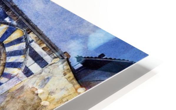 The Three Arches of Santa Maria Novella HD Sublimation Metal print