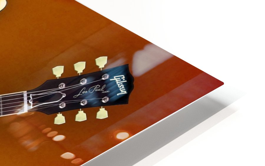 Vintage Gibson Les paul 1959 HD Sublimation Metal print