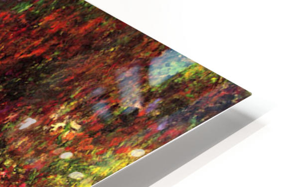 Path in Monets garden in Giverny by Monet HD Sublimation Metal print