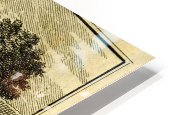 Huis Hinderstein HD Sublimation Metal print