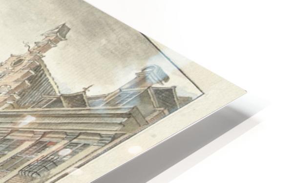 Nieuwstraat door HD Sublimation Metal print