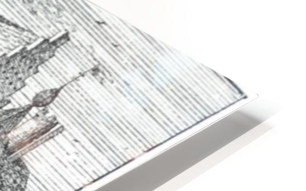 Huis te Asten HD Sublimation Metal print