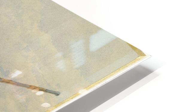 Greek Warrior HD Sublimation Metal print