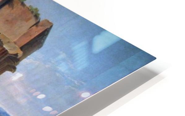 A caravan resting HD Sublimation Metal print