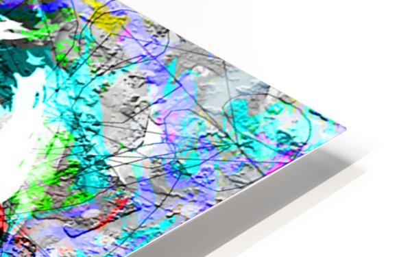 Art250 Impression de sublimation métal HD