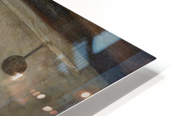 Doorkijkje in het onderhuis van Weissenbruch's woning in Den Haag HD Sublimation Metal print