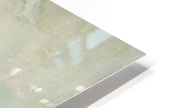 Strandgezicht HD Sublimation Metal print