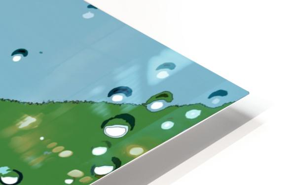 Raindrops 1  HD Sublimation Metal print