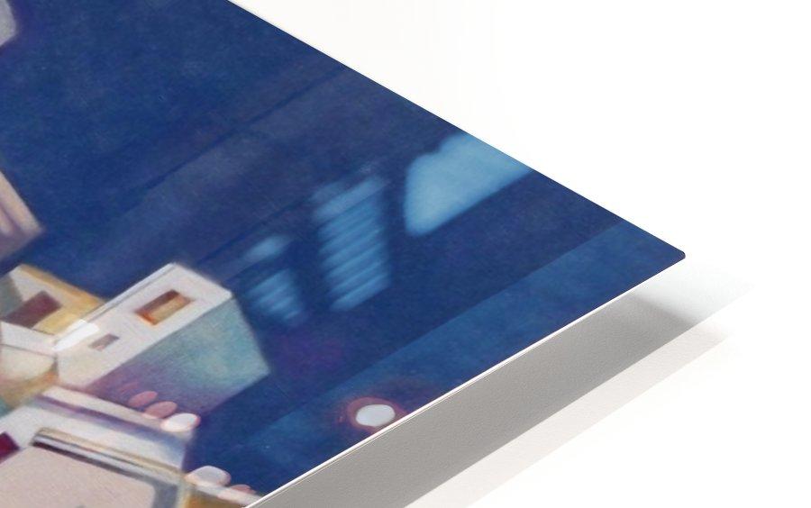 Memory of Santorini HD Sublimation Metal print