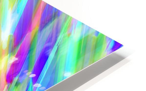 Colorful digital art splashing G401 HD Sublimation Metal print