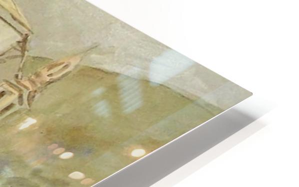 The Fountain, Taormina HD Sublimation Metal print