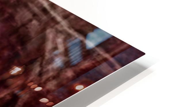 Christ face reconstruction claret HD Sublimation Metal print