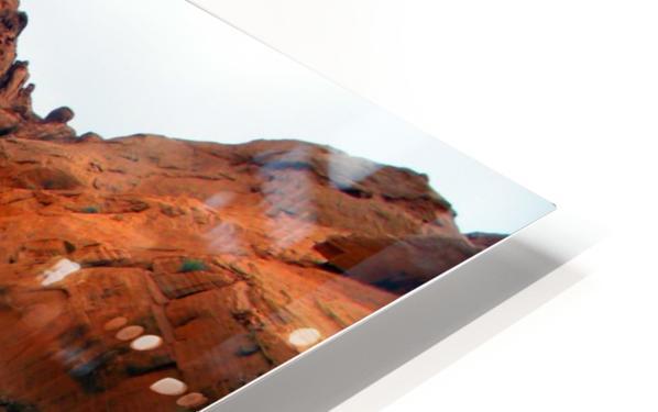 Desert Colors HD Sublimation Metal print