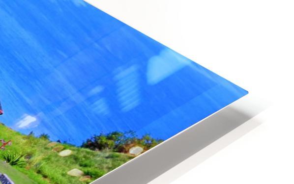 St Kitts Brimstone Hill Bastion HD Sublimation Metal print