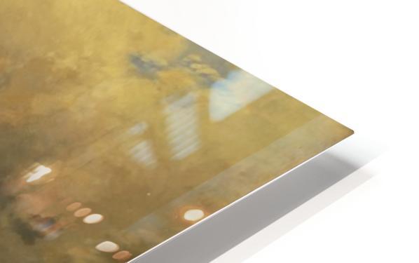Caravan in a sandstorm HD Sublimation Metal print