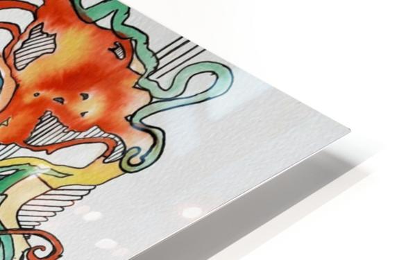 Snurch HD Sublimation Metal print