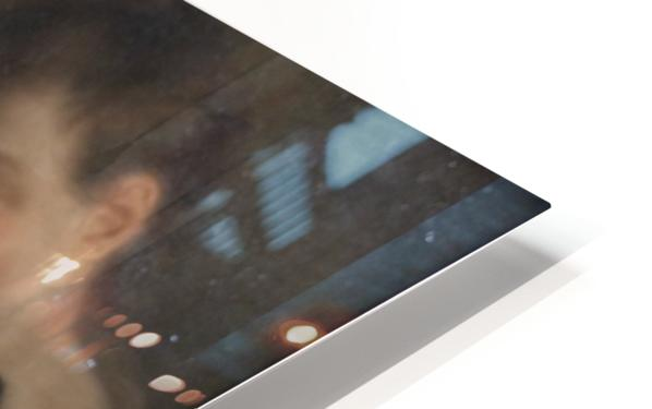 Mandolin player HD Sublimation Metal print