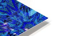 Electric Blue 1 HD Metal print