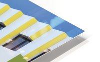 Triple facades HD Metal print