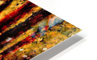 Seated slope by Seurat HD Metal print