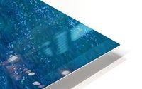 ocean with blue water and rock in summer HD Metal print
