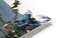 Crystal Clear White Lake HD Metal print