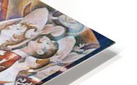 The big show by Seurat HD Metal print
