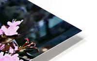 Flowers and Falls HD Metal print