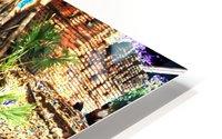 Old City Wall landscape. HD Metal print